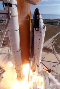 Columbia Launch STS-107