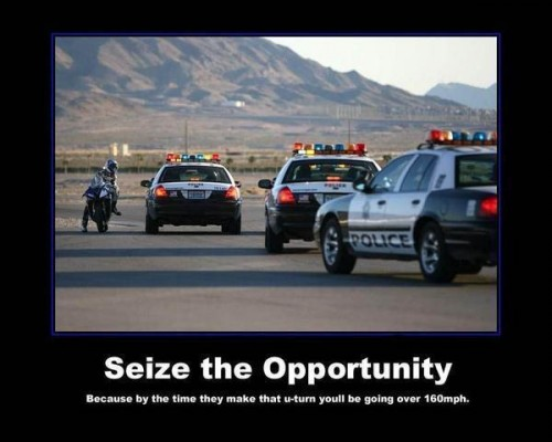 Sieze the Opportunity