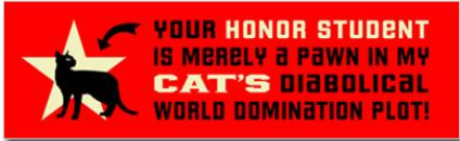 Honor Students and Cats