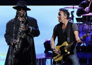 Clarence Clemons w/ Bruce Springsteen