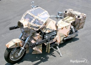 USMC Motorcycle