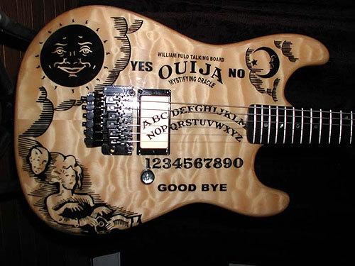 Ouija Board Guitar