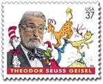 Dr Seuss Stamp