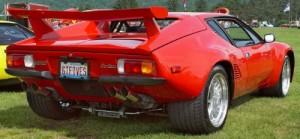 1986 DeTomaso Pantera (rear)