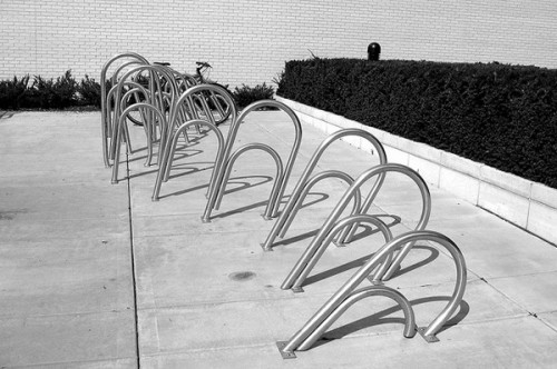 Paperclip Bike rack