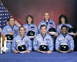 Challenger STS-51 Crew