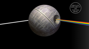 Dark side of the Hey that's no moon!