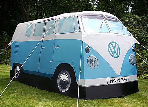 Volkswagen Microbus Tent