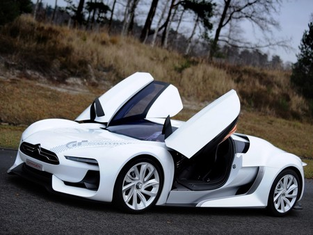 Citroen GT with Doors Open