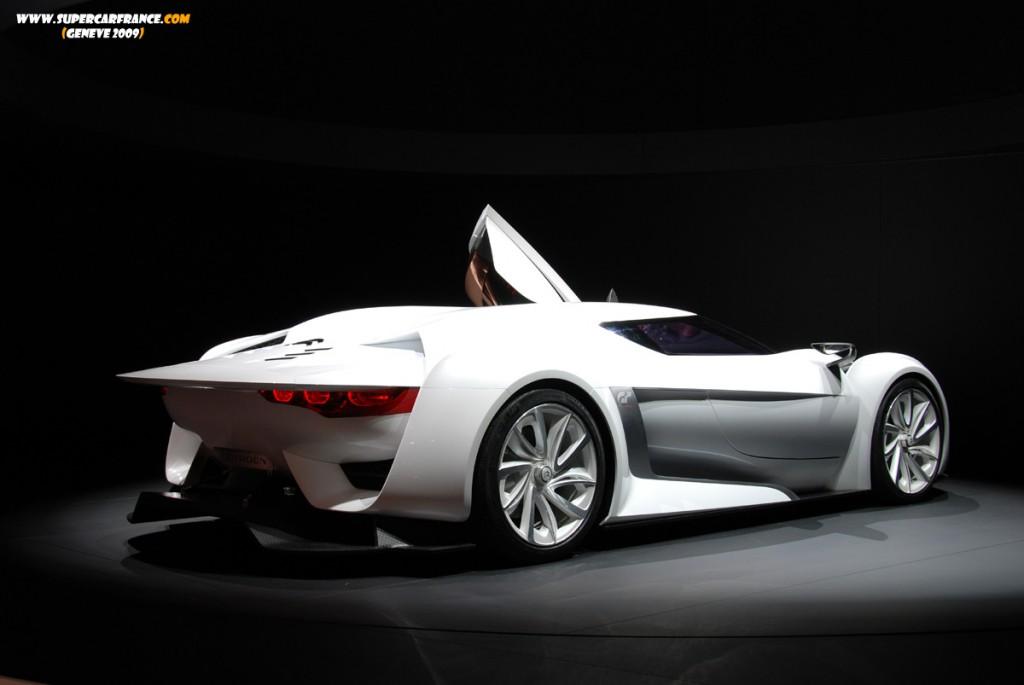 Citroen GT Rear