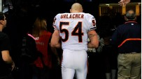 Brian Urlacher walking away