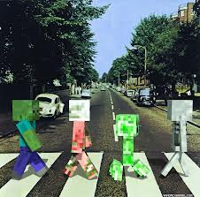 Minecraft Abbey Road