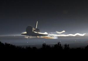 STS-135 Landing