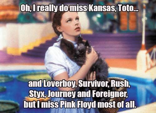 I really do miss Kansas