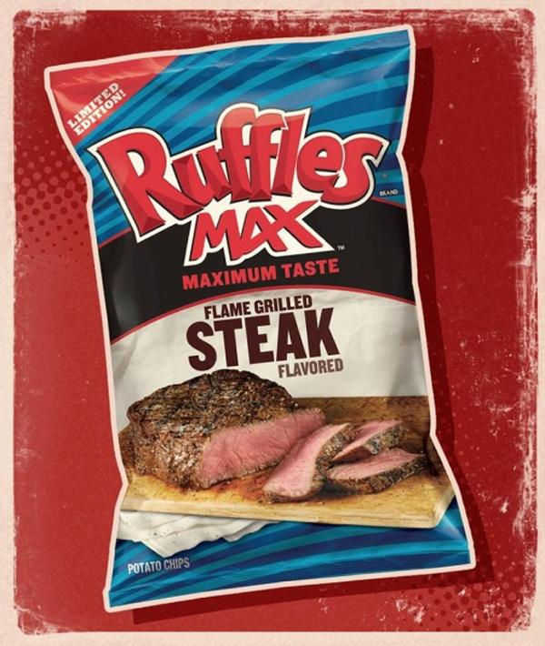 Flame Grilled Steak Ruffles!