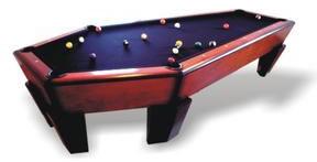 Casket Pool Table