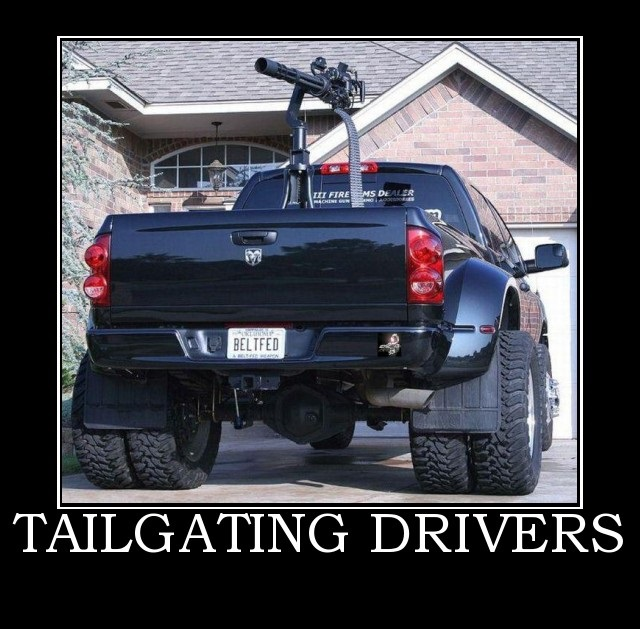 Tailgating Drivers...