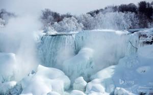 American Falls Frozen